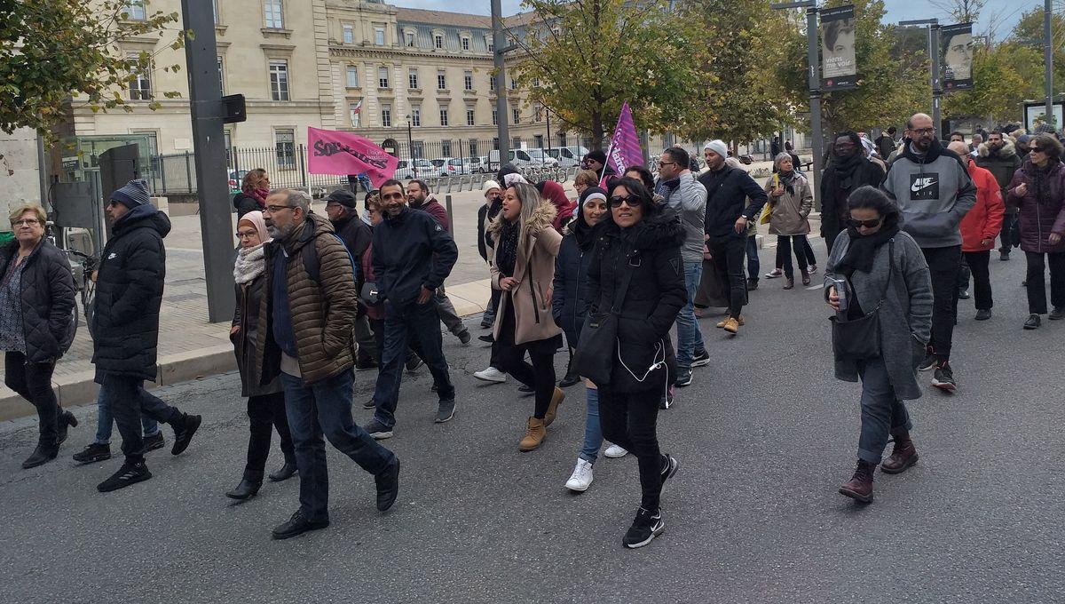 Marche contre l'islamophobie : une centaine de personnes ont manifesté à Avignon