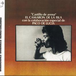 """Pochette de l'album """"El Camaron de la Isla con la colaboracion especial de Paco de Lucia:Castillo de arena"""" par Camaron De La Isla"""