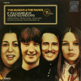 """Pochette de l'album """"If you can believe your eyes and ears"""" par The Mamas And The Papas"""