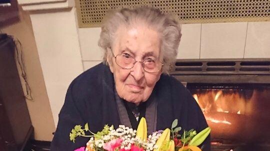 Henriette Lambert 108 ans