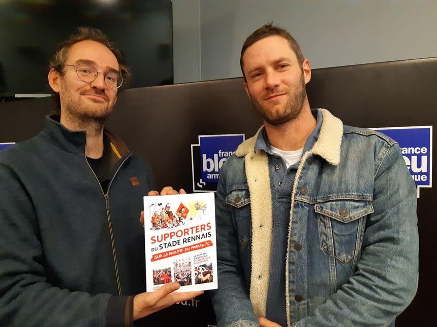 Benjamin Keltz et Eudes, les deux auteurs rennais de l'ouvrage