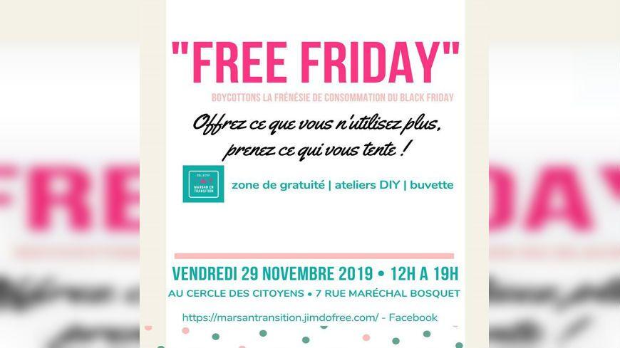 "Le collectif Marsan en transition organise le ""free friday"" ce vendredi 29 novembre"