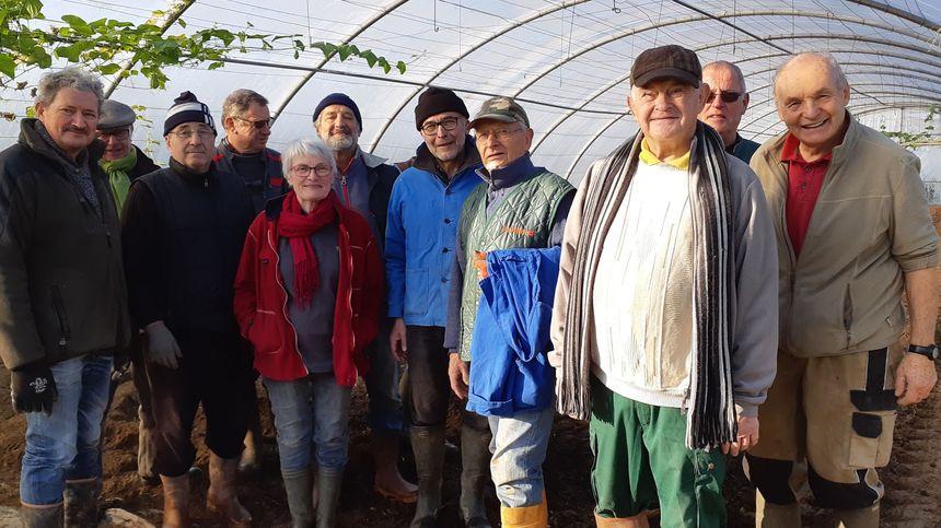 L'équipe des Jardins du Coeur de Bouguenais