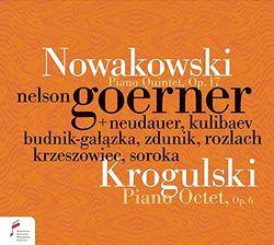Octuor en ré min op 6 : Adagio - pour piano flûte clarinette 2 violons alto violoncelle et contrebasse - NELSON GOERNER