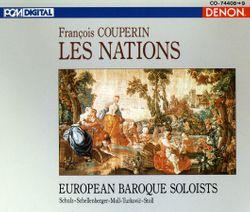 Les Nations 2ème ordre : L'Espagnole : Passacaille - Solistes Baroques Europeens
