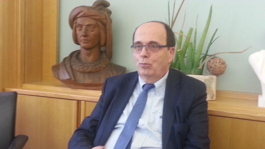 Michel Autissier, président (LR) du conseil départemental du Cher