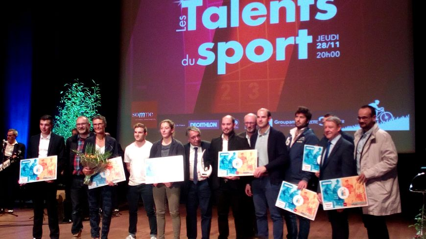 Les lauréats des Talents des Sports 2019 sur la scène de Mégacité