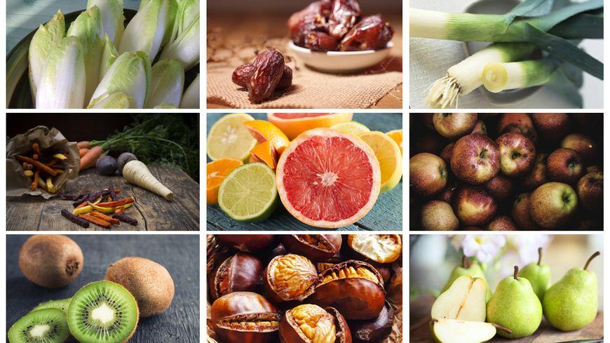 Les fruits et légumes de décembre, pour finir l'année en pleine forme