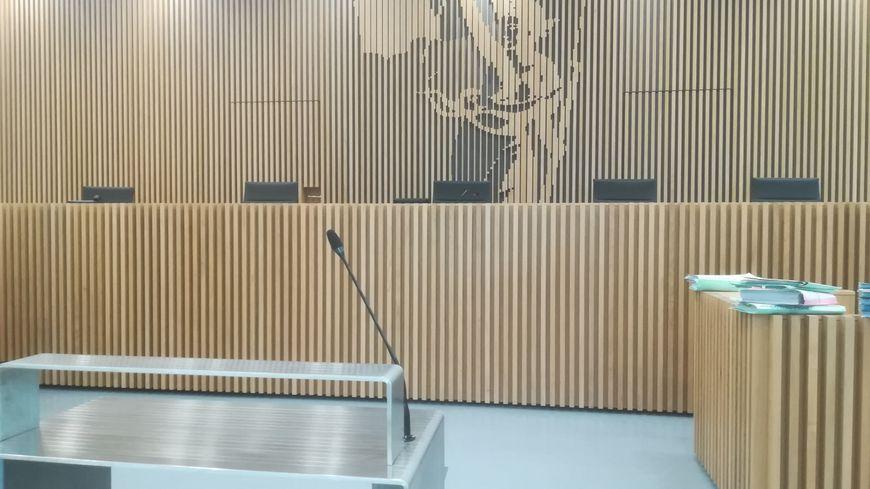 Salle d'audience Palais de justice de Caen