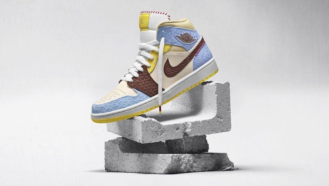 Nike : la magnifique paire Air Jordan 1 x Maison Château ...