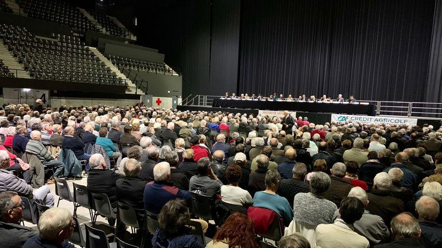 Un millier de personnes ont assisté à l'assemblée générale de l'association des retraités agricoles de Dordogne