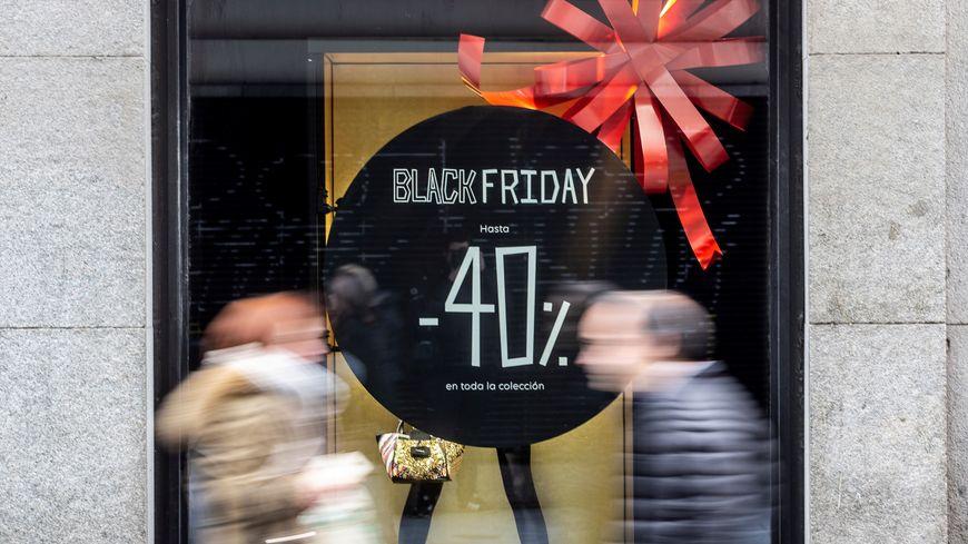 """Le """"Black Friday"""", journée de promotions importée des États-Unis a lieu le 29 novembre 2019 en France."""