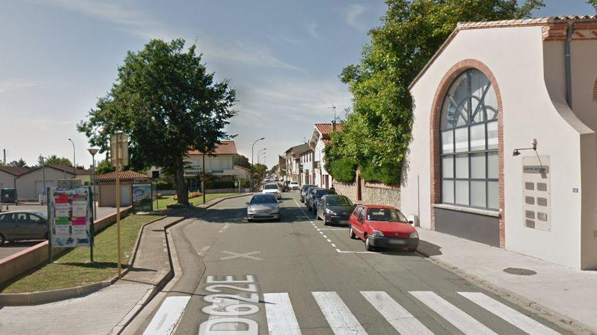 L'accident a eu lieu sur l'avenue de la gare, om se trouve aussi le cinéma de Villefranche.