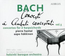 Concerto pour 2 clavecins en Fa Maj Fk 10 : 2. Andante - PIERRE HANTAI