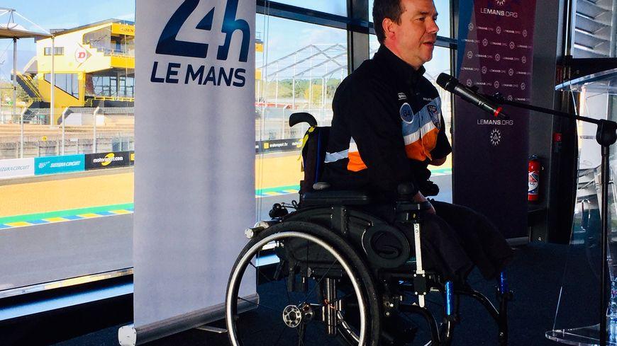 Frédéric Sausset prépare un équipage de trois pilotes handicapés pour l'édition 2020 des 24 heures du Mans