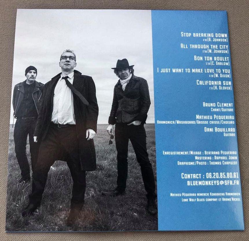 Le nouvel EP du trio Blue Monkeys