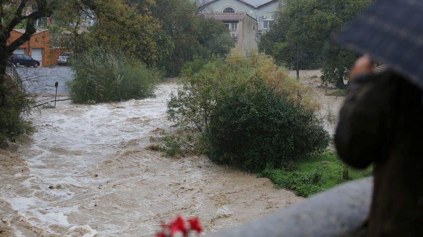 De nombreux cours d'eau sont sortis de leur lit.