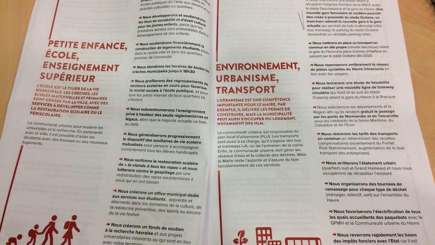 Le Parti Socialiste du Havre présente son programme municipal : 70 propositions issues d'une trentaine de rencontres avec les Havrais