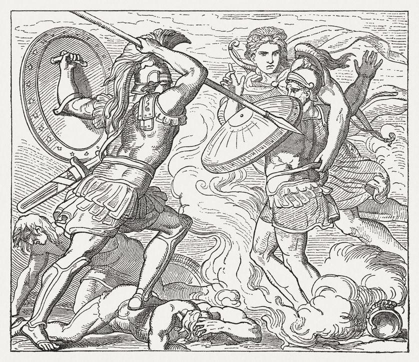 Daimôn dans l'épopée homérique : de l'action divine