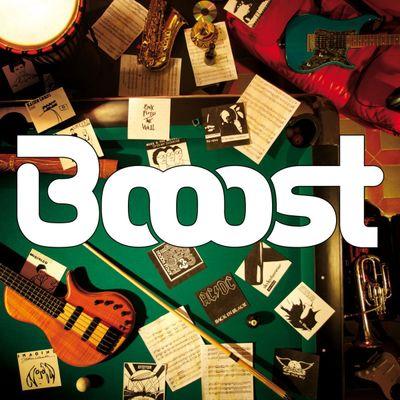 "Pochette de l'album ""Booost (Extrait)"" par Booost"