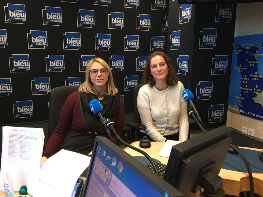Marie Soline POrcher et Nancy Travert