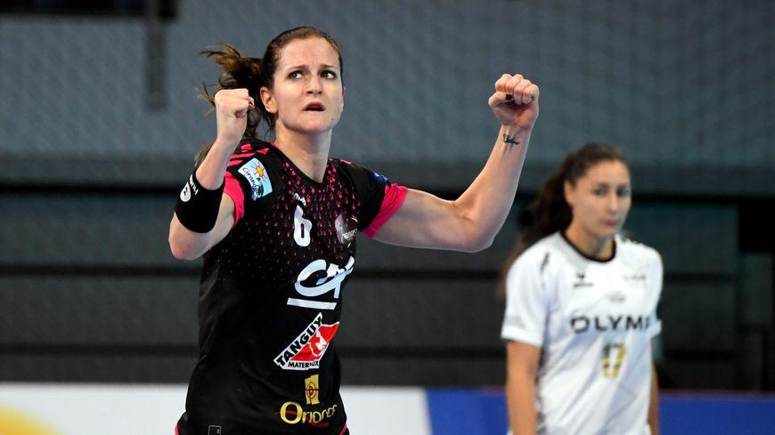 Ana Gros enchaîne les victoires avec Brest cette saison, en championnat comme en Ligue des champions.