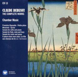 Rapsodie pour clarinette et piano n°1 en Si bémol Maj L 124 (116) - NICOLAS BALDEYROU