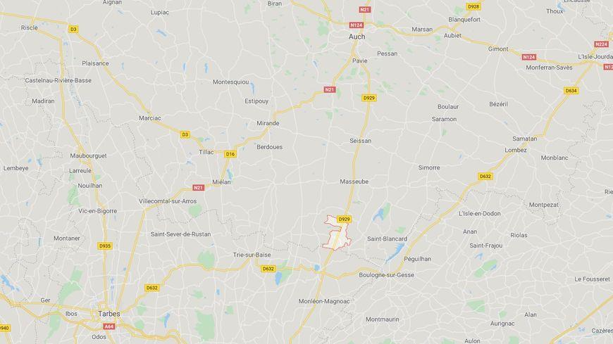 Sud-Gers : la route entre Auch et Lannemezan coupée pendant deux heures après l'accident d'un bus scolaire - France Bleu