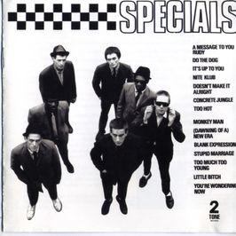 """Pochette de l'album """"Specials (remaster)"""" par The Specials"""