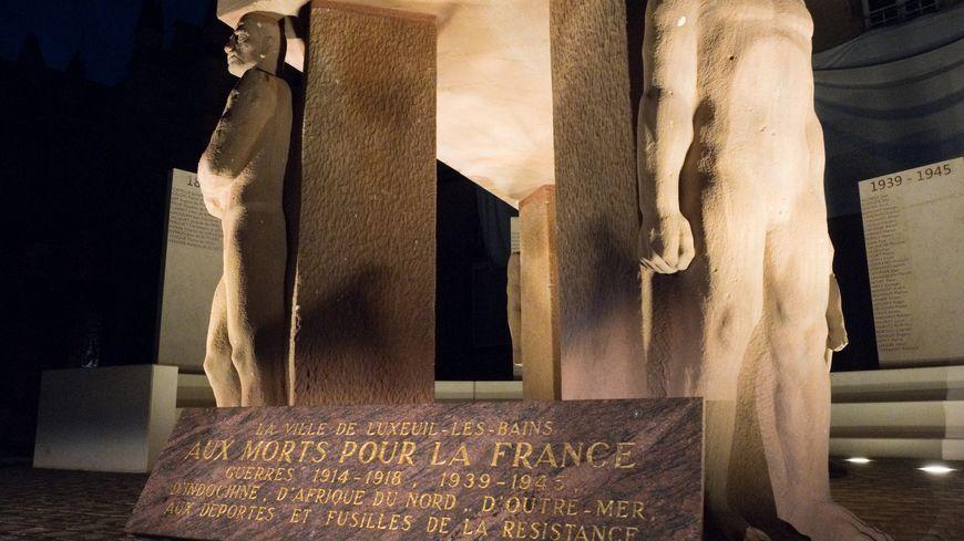 Nouveau monument aux morts Luxeuil.