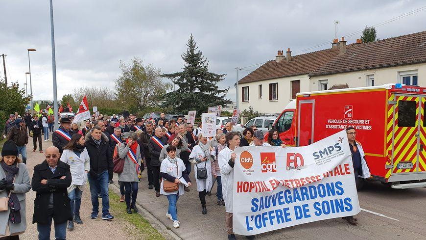Plus de 500 personnes ont défilé dans les rues d'Auxerre
