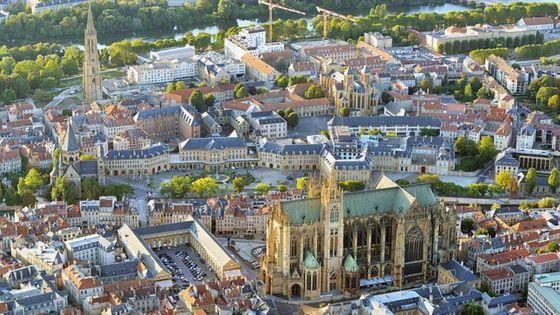 Centre ville de Metz, nouvelle ville créative UNESCO dans la catégorie musique