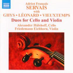 Grand duo sur des motifs de l'opéra Les Huguenots de Meyerbeer - pour violon et violoncelle - FRIEDEMANN EICHHORN