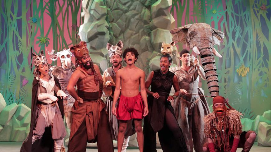 Gagnez vos places pour le spectacle musicale Le livre de la jungle au Zénith de Pau dimanche 1ier décembre
