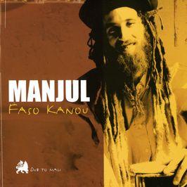 "Pochette de l'album ""Faso kanou"" par Manjul"