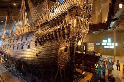Exposition au Musée Vasa, en Suède