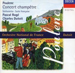 Suite française FP 80 : Bransle de Champagne - pour 9 instruments à vent percussions et clavecin - PASCAL ROGER