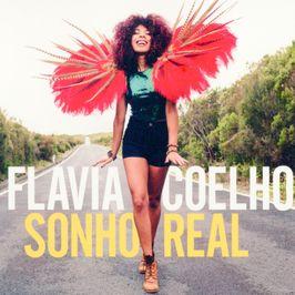 """Pochette de l'album """"Sonho real"""" par Flavia Coelho"""