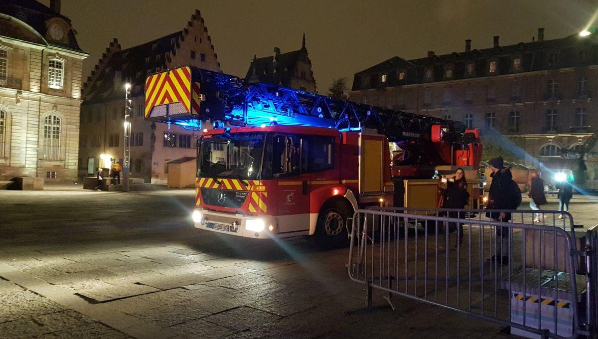 Incendie dans la cathédrale de Strasbourg : les pompiers en exercice grandeur nature