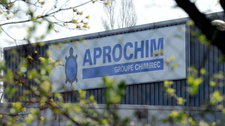 L'usine Aprochim à Grez-en-Bouère.