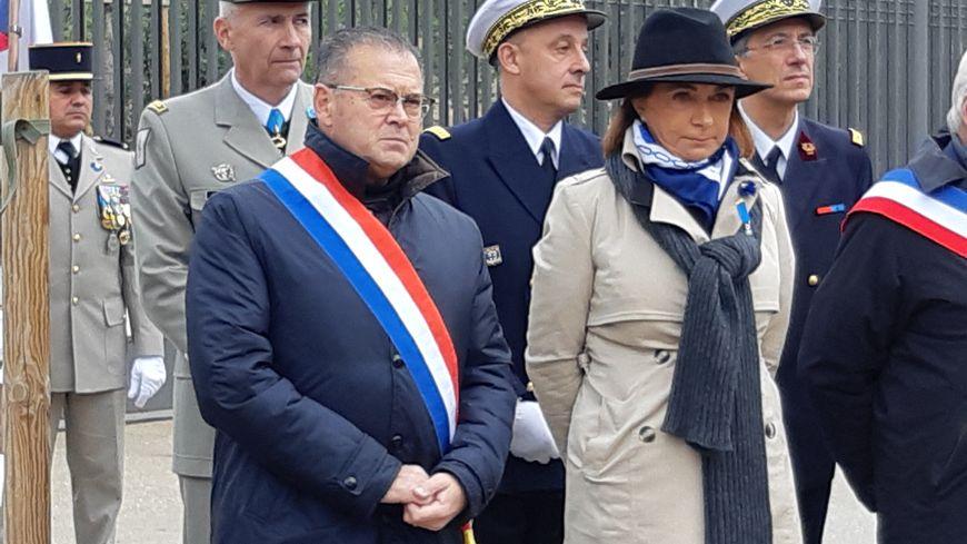 Martine Vassal et Bruno Gilles, adversaires à droite pour la mairie de Marseille