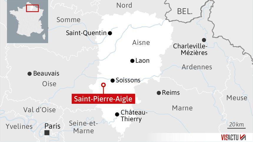 Saint-Pierre-Aigle, carte de localisation