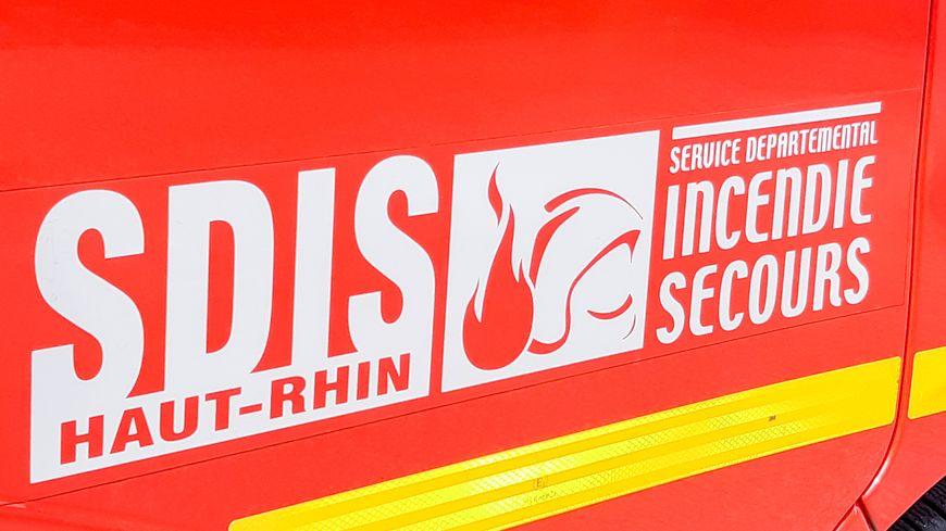 Pompiers du Haut-Rhin en Alsace (illustration)