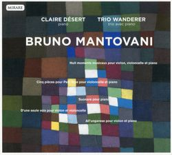 Huit moments musicaux - pour violon violoncelle et piano - TRIO WANDERER