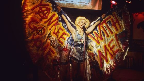 "John Cameron Mitchell dans ""Hedwig and the Angry Inch"""