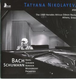 Prélude en ut dièse min pour la main gauche seule op 9 n°1 - Tatiana Nikolaieva