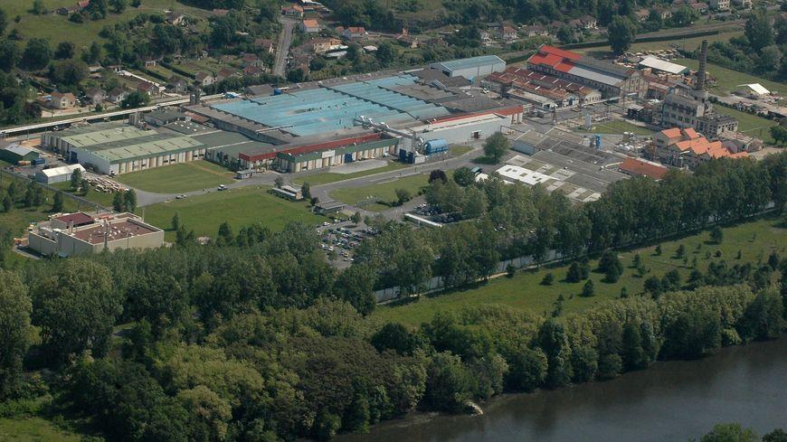 L'usine Polyrey à Baneuil