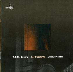 Quatuor à cordes en Sol Maj op 3 n°1 : Andantino - QUATUOR THAIS