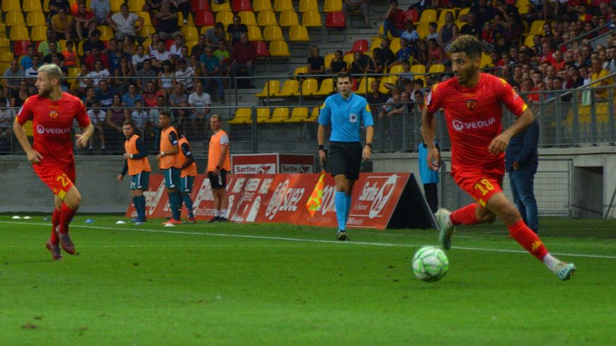 Bien remis de sa blessure, Youssef Maziz postule à une place sur le front de l'attaque mancelle.
