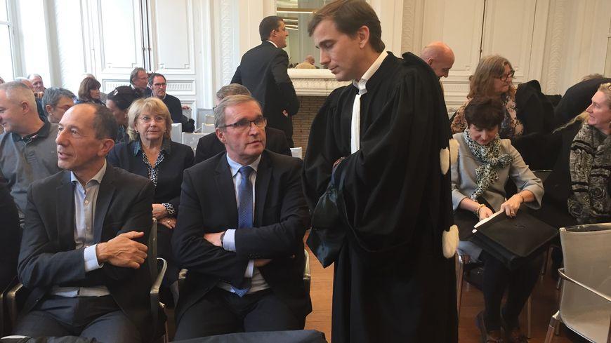 Germinal Peiro le président du département était présent à la cour administrative d'appel de Bordeaux